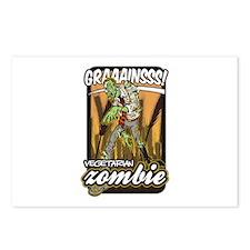 Vegetarian Zombie Postcards (Package of 8)