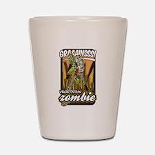Vegetarian Zombie Shot Glass