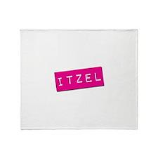 Itzel Punchtape Throw Blanket