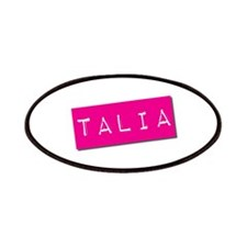 Talia Punchtape Patches