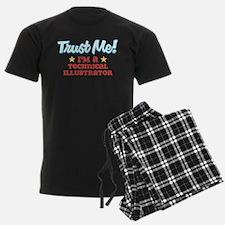 Trust Me Technical Illustrato Pajamas