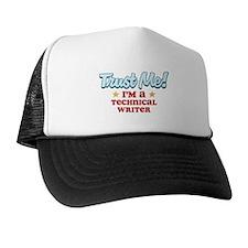 Trust Me Technical Writer Trucker Hat
