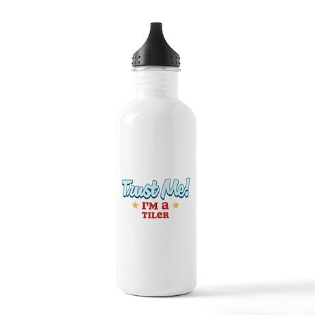 Trust Me Tiler Stainless Water Bottle 1.0L