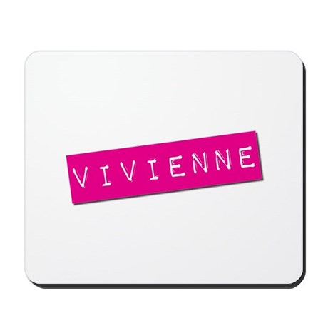 Vivienne Punchtape Mousepad