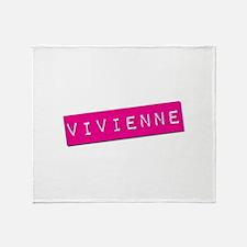Vivienne Punchtape Throw Blanket