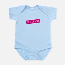 Vivienne Punchtape Infant Bodysuit
