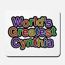 World's Greatest Cynthia Mousepad
