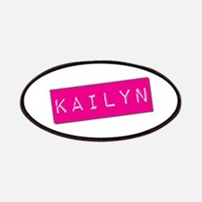 Kailyn Punchtape Patches