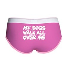 'Walk All Over Me' Women's Boy Brief
