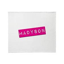 Madyson Punchtape Throw Blanket