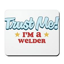 Trust Me Welder Mousepad