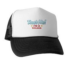 Trust Me Welder Trucker Hat