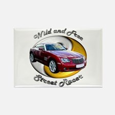 Chrysler Crossfire Coupe Rectangle Magnet (10 pack