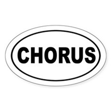 Chorus Music Decal