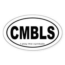 Cymbals Percussion Music Decal