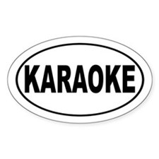 Karaoke Music Decal