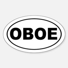 Oboe Music Decal