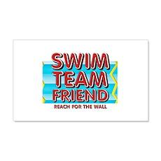 Swim Team Friend Wall Decal