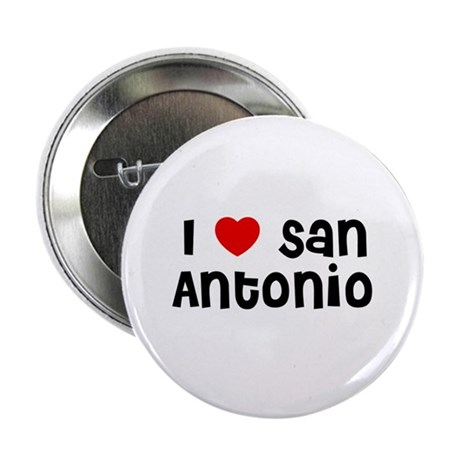 I * San Antonio Button