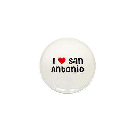 I * San Antonio Mini Button (10 pack)