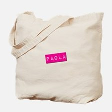 Paola Punchtape Tote Bag