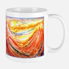 Sunrise, colorful, art, Mug