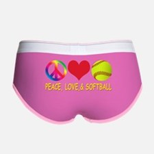 Girls Softball Women's Boy Brief