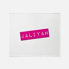 Jaliyah Punchtape Throw Blanket