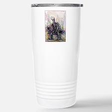 Desert tortoise, nature, art, Travel Mug