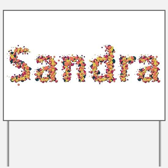 Sandra Fiesta Yard Sign