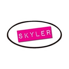 Skyler Punchtape Patches