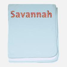 Savannah Fiesta baby blanket