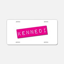 Kennedi Punchtape Aluminum License Plate