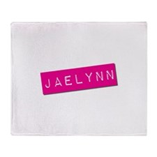 Jaelynn Punchtape Throw Blanket