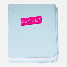 Marlee Punchtape baby blanket