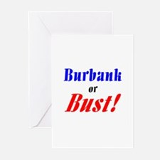 Burbank or Bust! Greeting Cards (Pk of 10)