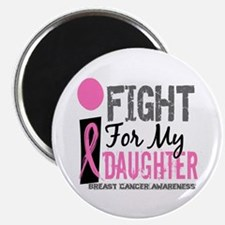 """Fight For My Breast Cancer 2.25"""" Magnet (100 pack)"""