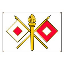 Signal Branch Insignia Banner