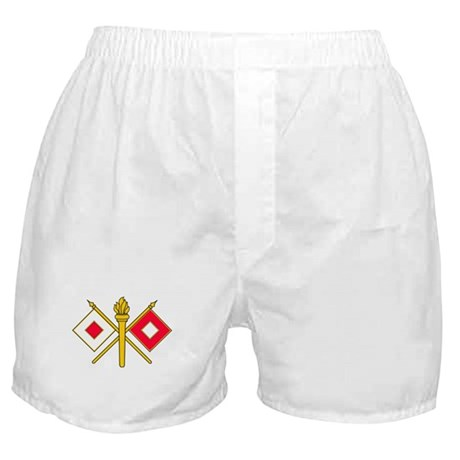 Signal Branch Insignia Boxer Shorts