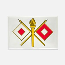 Signal Branch Insignia Rectangle Magnet