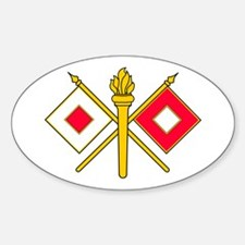 Signal Branch Insignia Decal