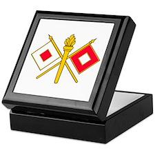 Signal Branch Insignia Keepsake Box
