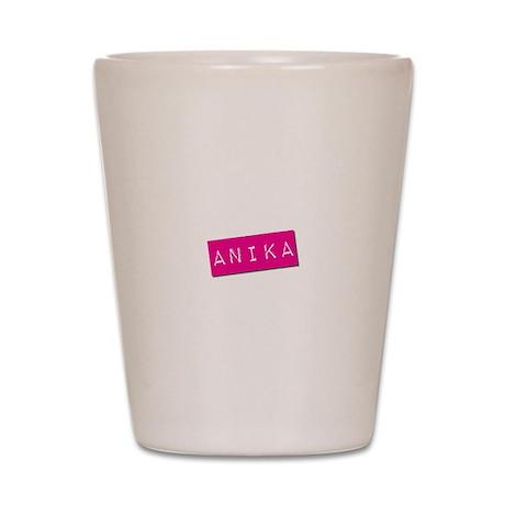 Anika Punchtape Shot Glass