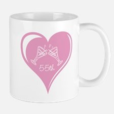55th Wedding Anniversary Mug