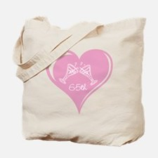 65th Wedding Anniversary Tote Bag