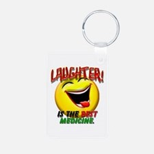 Laughter is the Best Medicine Keychains