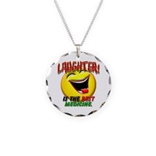 Laughter is the Best Medicine Necklace