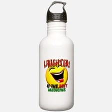 Laughter is the Best Medicine Water Bottle