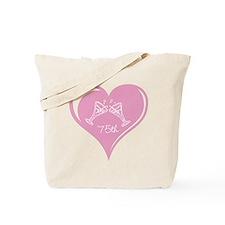 75th Wedding Anniversary Tote Bag