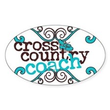 Cross Country Coach Decal